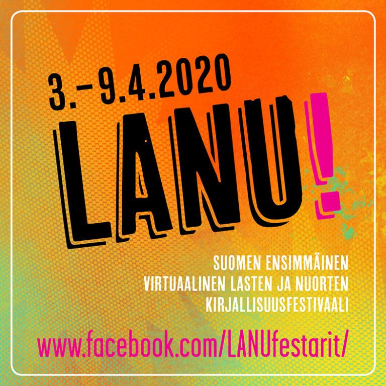 Karhu ja Kettu ja LANU virtuaalinen kirjallisuusfestivaali